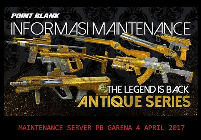 Maitenance Server PB Garena Indonesia 4 April 2017