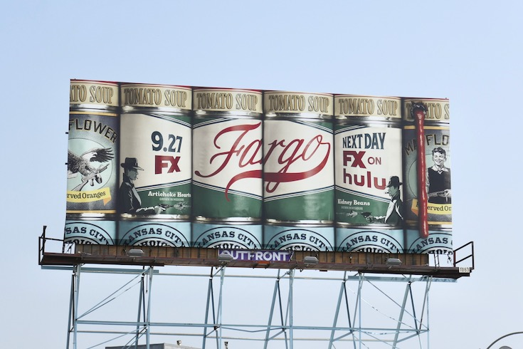 Fargo season 4 cans billboard