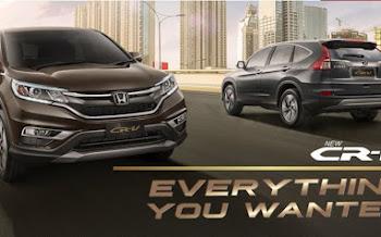 Harga mobil Honda CRV terbaru – Cari Mobil Baru