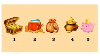 Тест: Выберите предмет и узнайте, как и когда вы сможете стать богатым