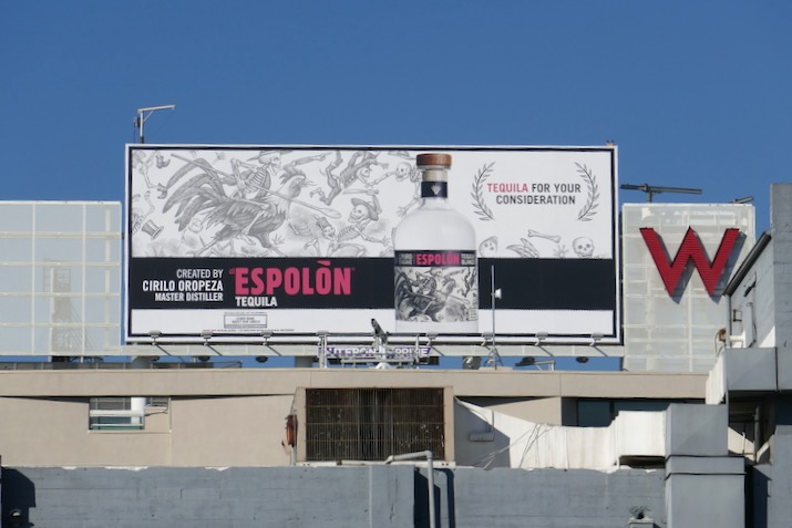Espolon Tequila For your consideration billboard