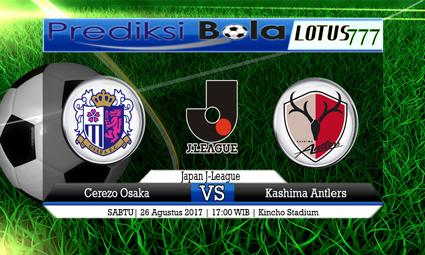 Prediksi Pertandingan antara Cerezo Osaka vs Kashima Antlers Tanggal 26 AGUSTUS 2017