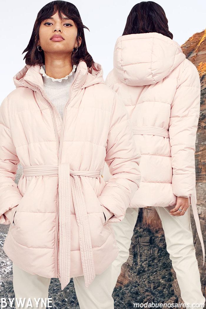 Camperas invierno 2021 moda mujer