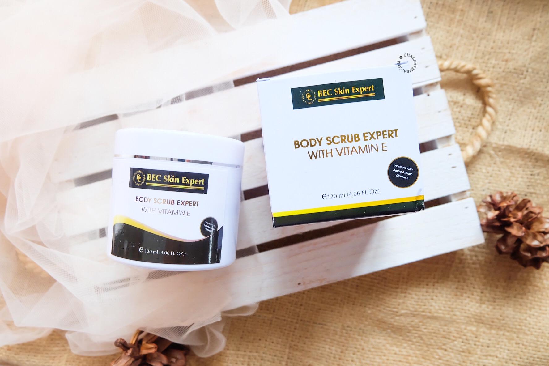 Review Body Scrub Expert BEC Skin Expert
