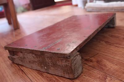 Pirka (पिर्का): Nepali wooden mat