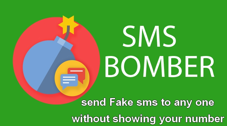 Sms Bomber send Fake sms to any one without showing your number