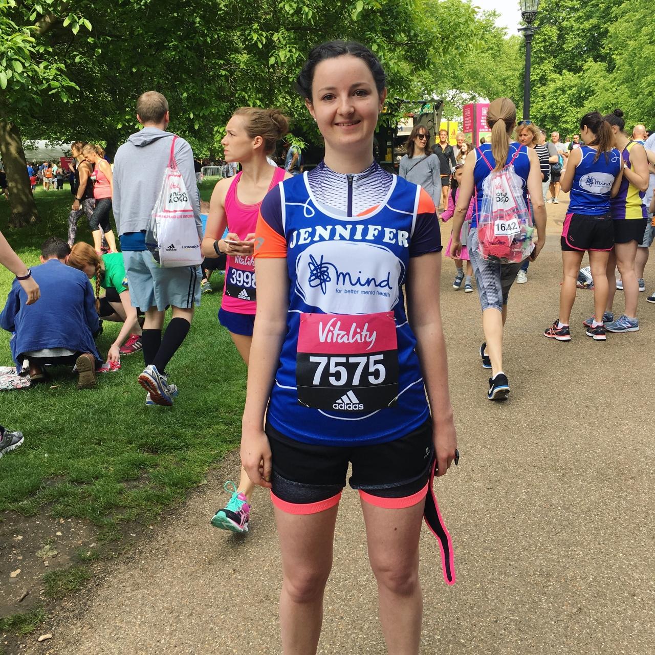 London Vitality 10000 runner
