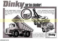 Publicités Dinky Toys, 1973