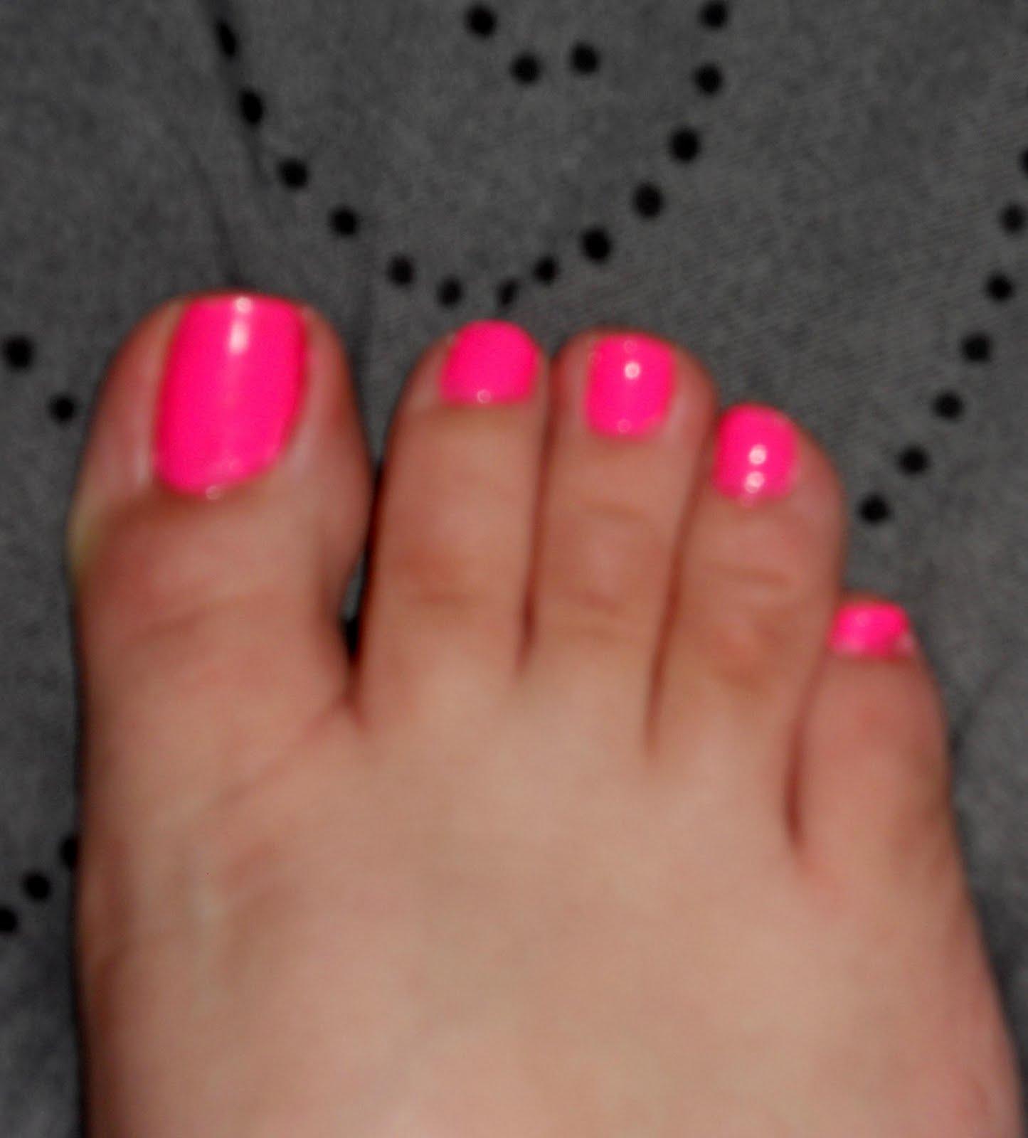 Nail Varnish On Toes?