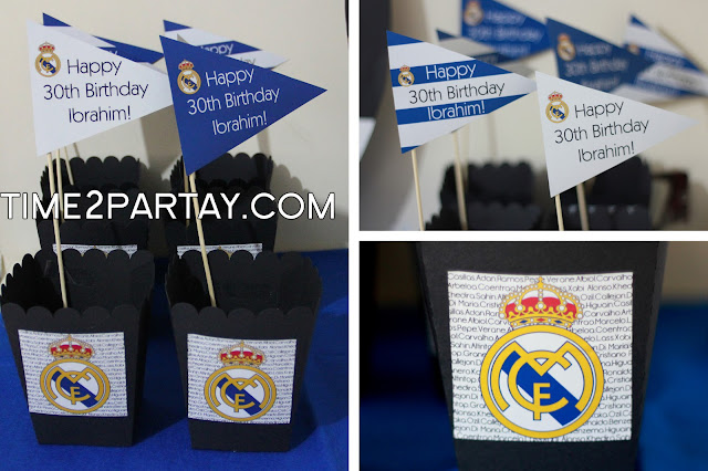 Real Madrid Soccer Themed Party Decorations Sweets More