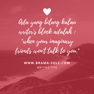 sumber writers block