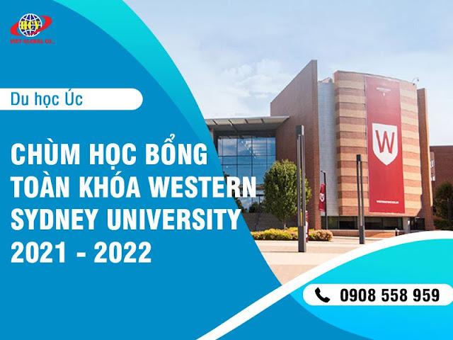 Du học Úc: Chùm học bổng toàn khóa Western Sydney University 2021 – 2022