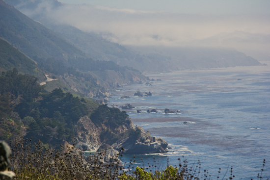 Scenes from the pacific coast highway
