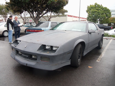 Almost Everything's Car of the Day is a 1987 Chevrolet Camaro IROC--Before Painting