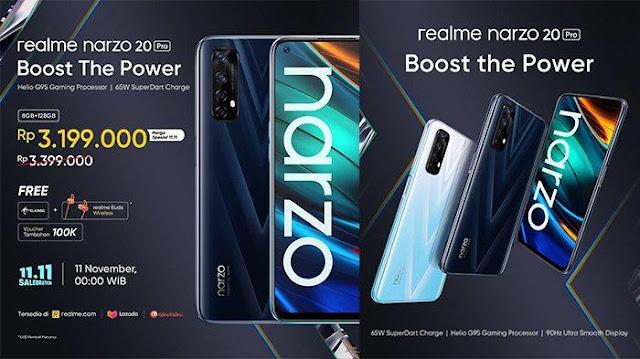 Spesifikasi dan Harga HP Realme Narzo 20 Pro Terbaru