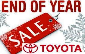 Promo Akhir Tahun Toyota
