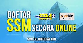 Cara Daftar Suruhanjaya Syarikat Malaysia (SSM) Secara Online 2021 - Perniagaan Enterprise