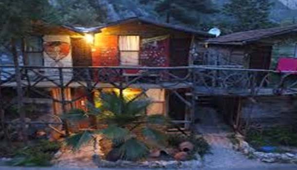 Kadir's Tree Houses are located in the village of Olimpos, on the Turkey's peaceful turquoise coastline at the last part of the pine trees dresses valley.  These tree houses are plain bungalows made of wood and are fixed in between the branches. These tree houses have been in high demand with the backpackers and their popularity is increasing each day.