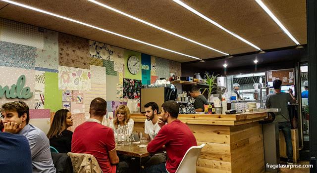Restaurante tailandês Le Petit Bangkok, em Barcelona