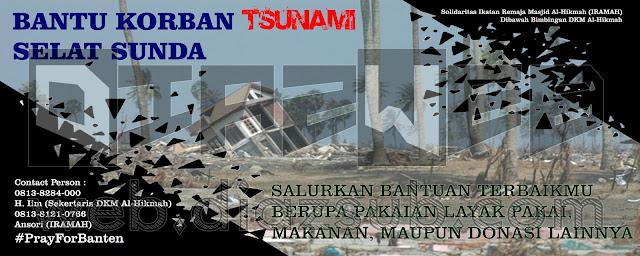 Spanduk Donasi Banten