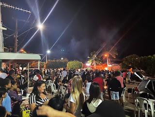 Jussiape/BA: Farra no distrito  Caraguataí reúne multidão em meio à pandemia