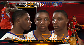NBA 2K13 Eric Bledsoe Cyber Face Patch