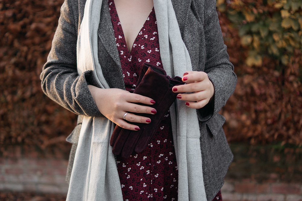 Winter-florals-burgundy-dress-ootd-Barely-There-Beauty-blog