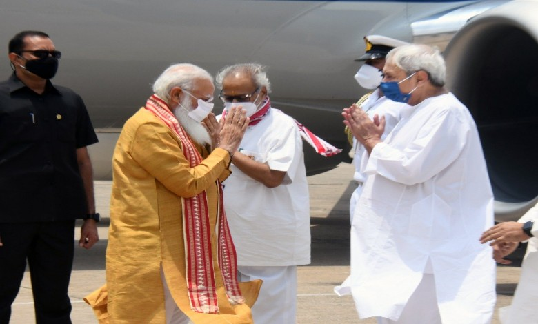 Prime Minister has come to see it is enough, do not want any compensation! said Orissa Chief Minister Naveen Patnaik.