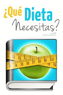 qué dieta necesitas, aplicación sobre alimentación