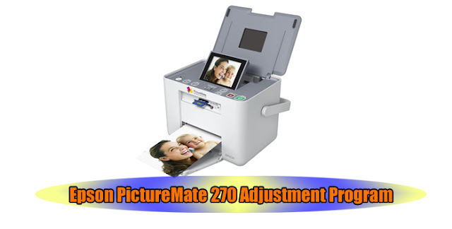 Epson PictureMate 270 Printer Adjustment Program