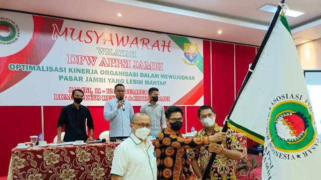 Ansori Hasan Ketua APPSI Jambi Minta Alihkan 40 Miliyar ke Pedagang Pasar Rakyat