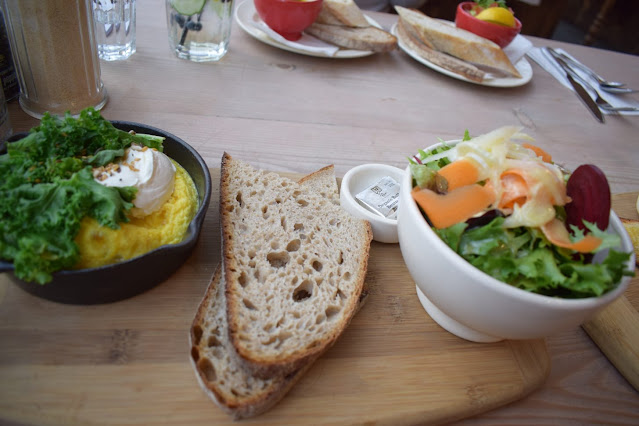 Victoria Gate Leeds Le Pain Quotidien Super greens and ricotta baked omelette