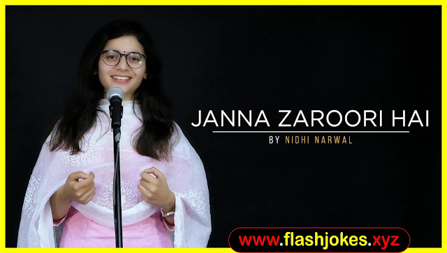 Janna Zaroori Hai | Nidhi Narwal | Spoken Word Poetry | Immature Ink