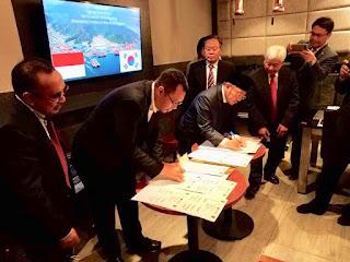 Gubernur Zul dan Bupati KLU Teken MoU Dengan Diamar dan Sungdong Untuk Bangun Bandar Kayangan