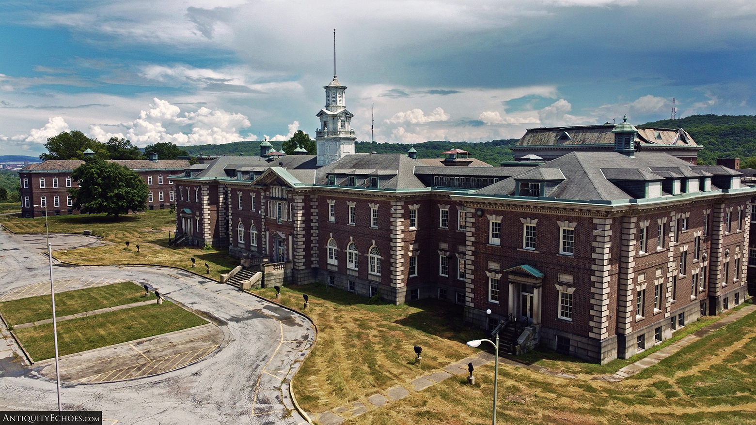 Allentown State Hospital - Drone Shot