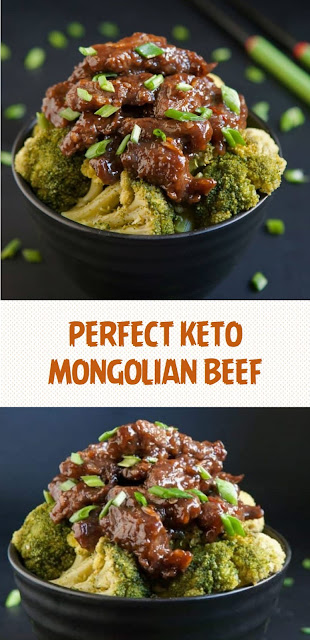 PERFECT KETO MONGOLIAN BEEF