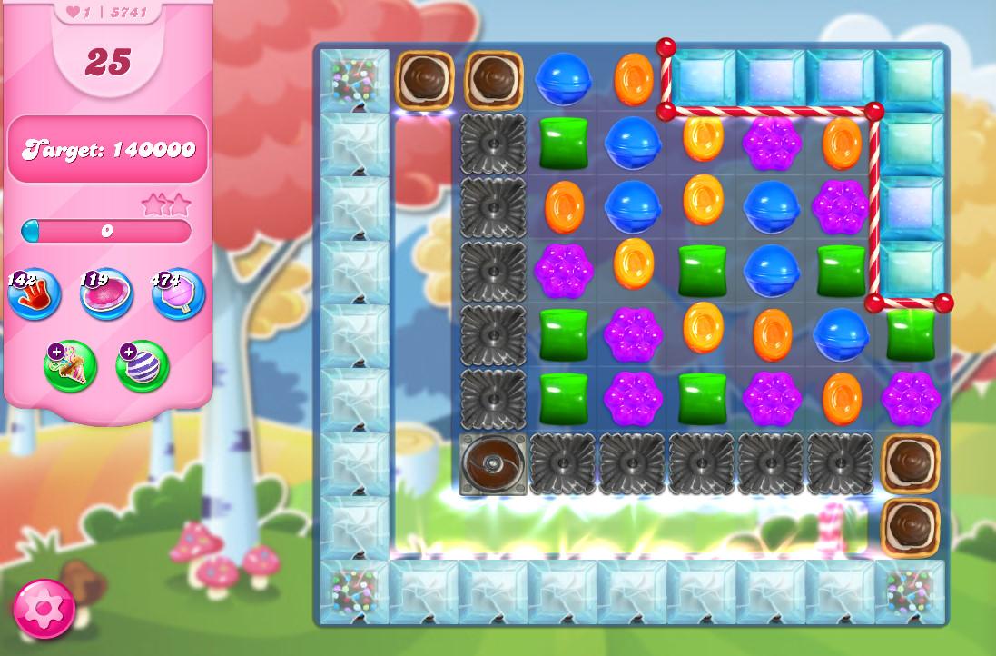 Candy Crush Saga level 5741