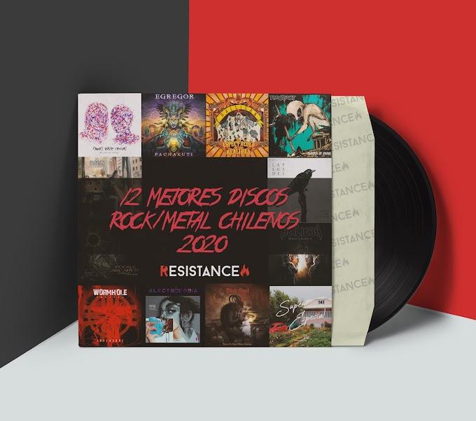 Lista: 12 Mejores discos rock/metal chilenos 2020