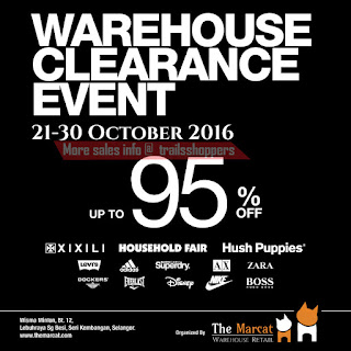 The Marcat Warehouse Retail Warehouse Clearance Event