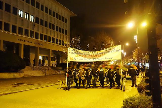 Γιάννενα: Χωρίς Εντάσεις και με την παρουσία Ισχυρών Αστυνομικών Δυνάμεων η χθεσινή Πορεία