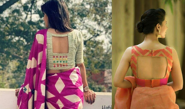 31 Trendy Cut Out Blouse Back Neck Designs For Sarees Bling Sparkle