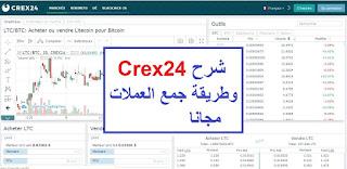 منصة crex24,شرح منصة crex24,منصة التداول