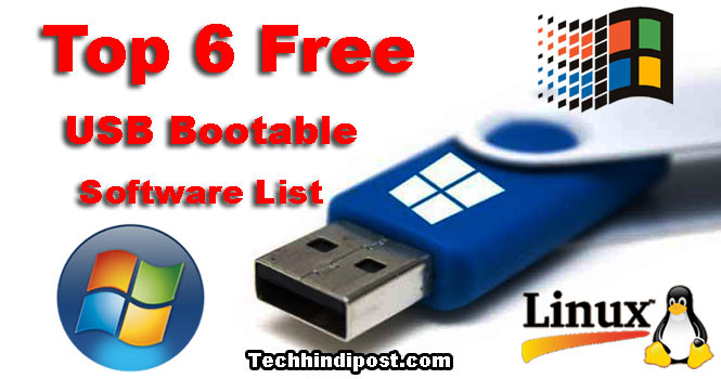 Pendrive bootable Banane Ki Top 6 Free Software websites