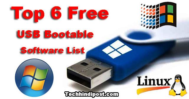 Pendrive bootable Banane Ki Top 6 Free Software websites