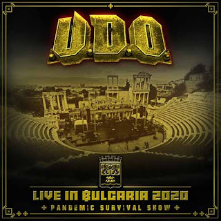 "UDO - ""Live In Bulgaria 2020 - Pandemic Survival Show"""