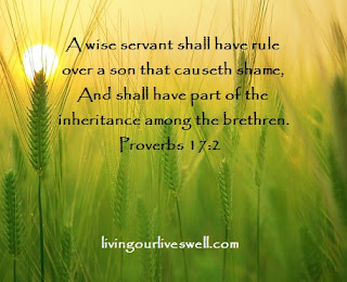 Proverbs 17:2