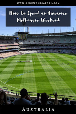 Weekend in Melbourne Australia - Melbourne Cricket Ground