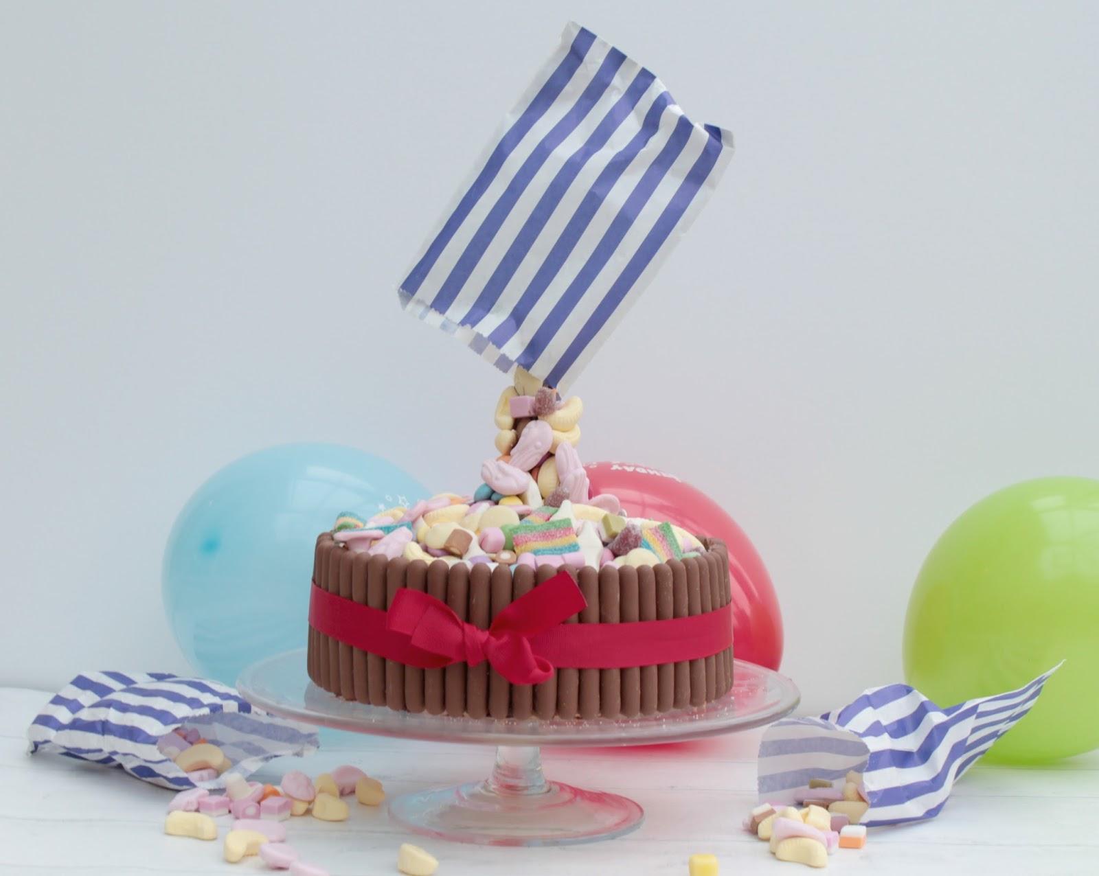 Pick N Mix Anti Gravity Cake