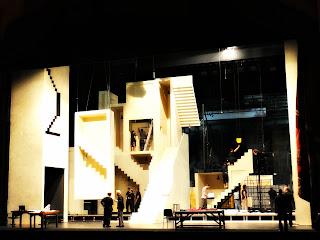 Montagem de Palco do Teatro Colón, Buenos Aires