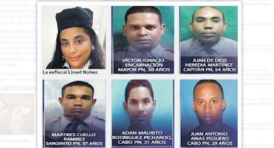 Estos son los agentes que participaron en el operativo de la barbería en Villa Vásquez | @EntreJerez
